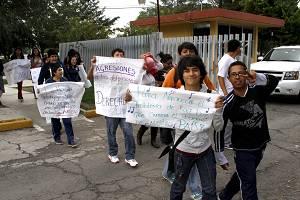 Fotonota:Alumnos de la UPN apoyan al CNTE
