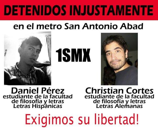#1SMX Libertad a Daniel Pérez y Christian Cortes