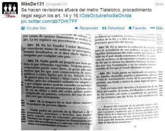 Revisiones violan artículos 14 y 16 de la Constitución abogado Mancera.
