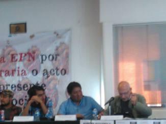 Advierte López y Rivas sobre la desesperación ciudadana, frente al terrorismo de Estado.