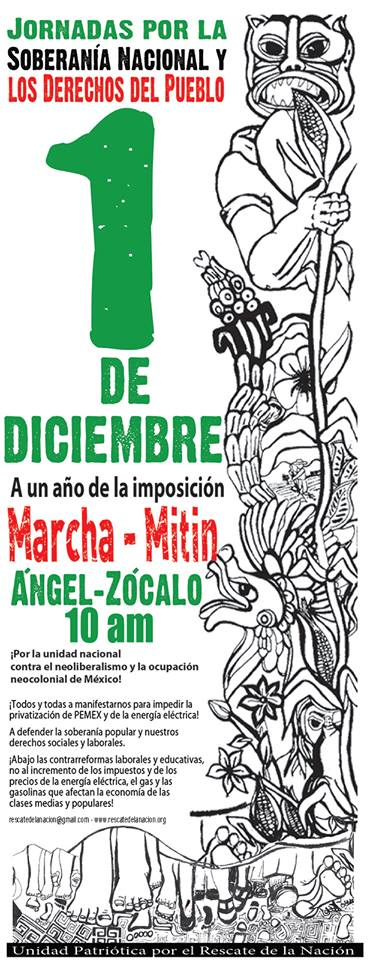 #Jornada1DMx del Ángel al Zócalo 10 AM