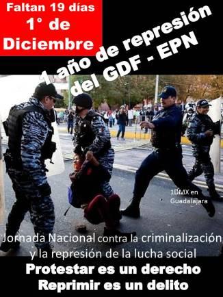 @ManceraMiguelMX @EPN Reprimir es un delito a 19 días de un año de imposición y represión