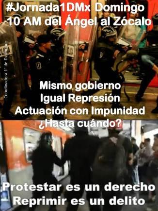 #Jornada1DMx Domingo 10 AM del Ángel al Zócalo