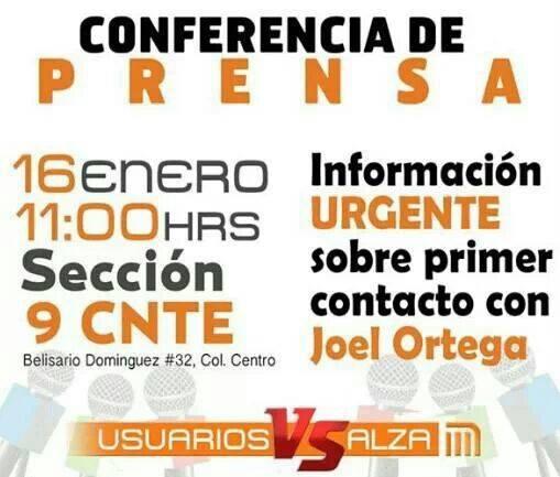 #MetroPopular #PosMeSalto Conferencia de Prensa 16 de Enero 11 AM Belisario Domínguez 32 DF