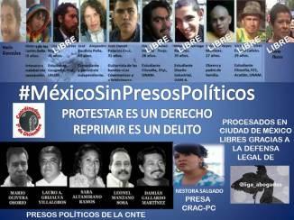 Luna Flores Libre un paso más en la #LibertadPresosPolíticos a seguir contra #ImpunidadPolicíacaCDMx