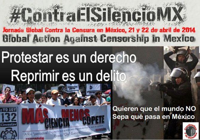 22 de abril 18hrs #MarchaContraElSilencio Ángel al Senado