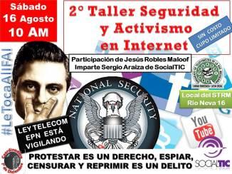 2Taller Seguridad y  Activismo en Internet